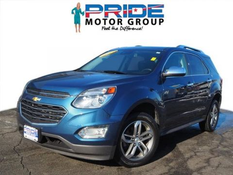Certified Pre-Owned 2017 Chevrolet Equinox Premier AWD 4D Sport Utility