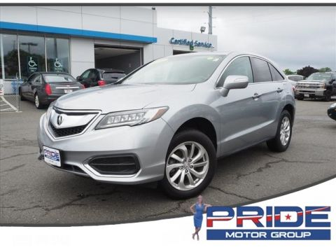 Pre-Owned 2017 Acura RDX Base AWD 4D Sport Utility