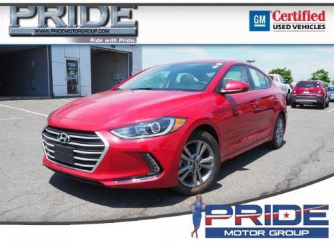 Pre-Owned 2017 Hyundai Elantra Value Edition FWD 4D Sedan