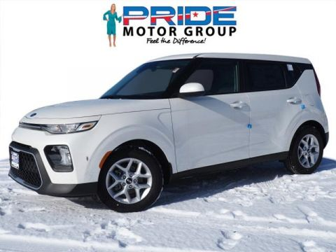 New 2020 Kia Soul S FWD 4D Hatchback